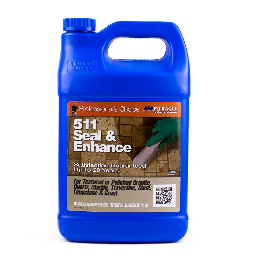 Miracle Sealants 1 Gallon Seal and Enhance