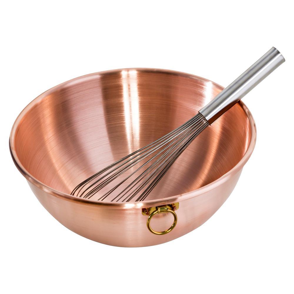 Copper Mixing Bowl