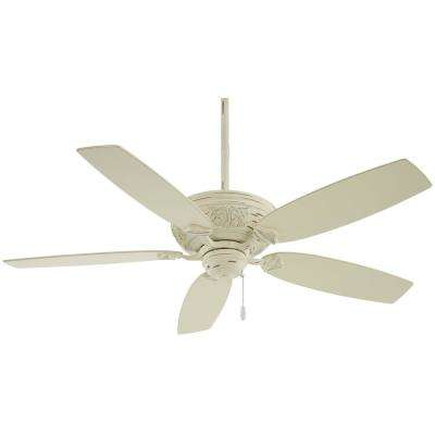 Classica 54 in. Indoor Provencal Blanc Ceiling Fan