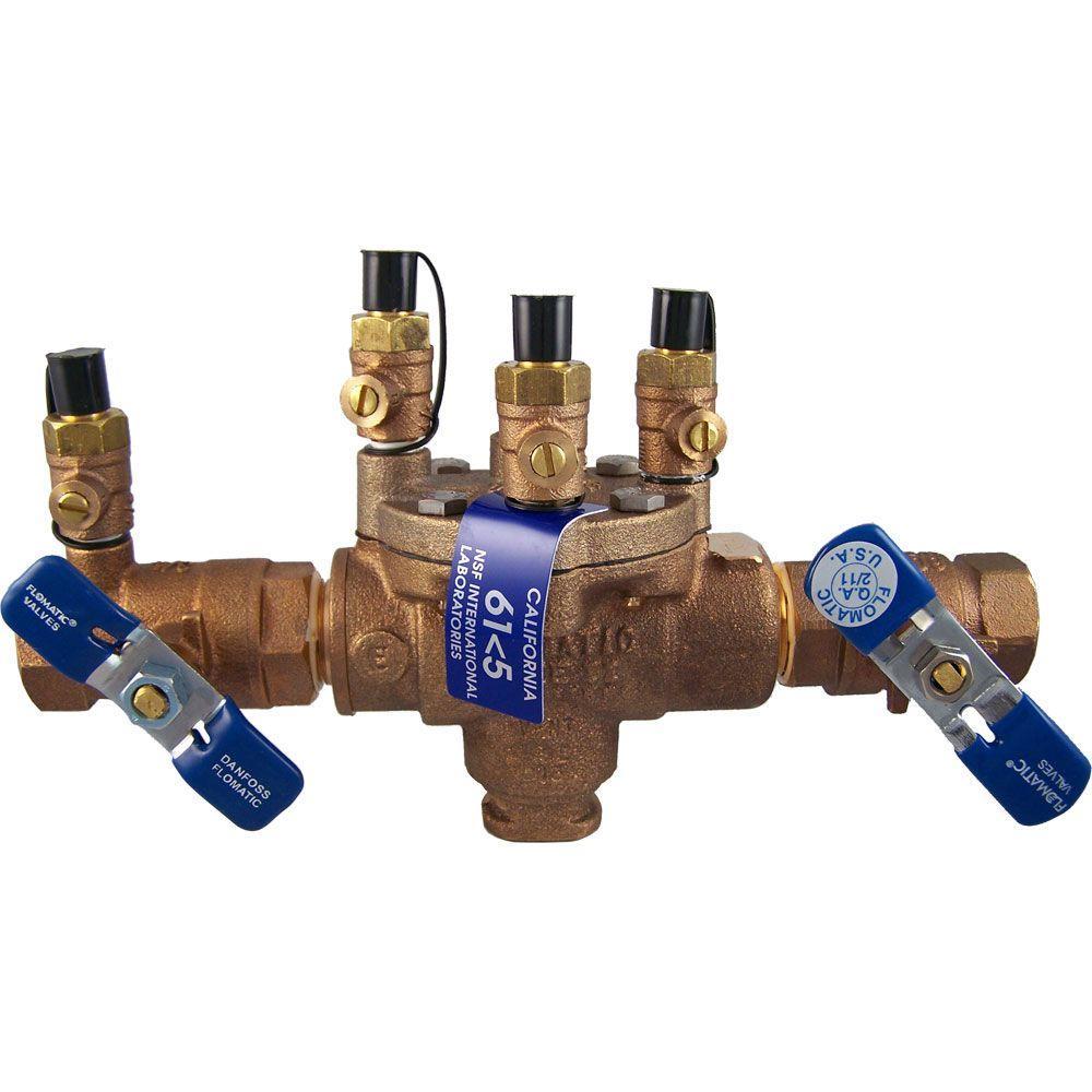 Cash Acme 3/4 in. RPZE Reduced Pressure Zone Backflow Preventer
