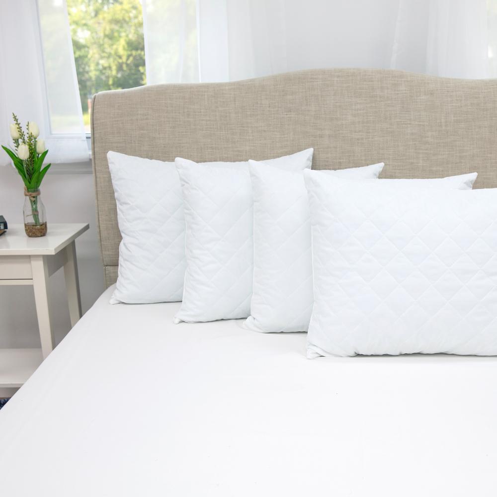 SensorPEDIC Shredded Memory Foam Standard Pillow (Set of 4)