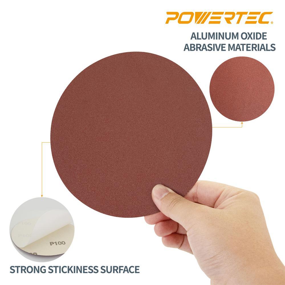Dark Stone 6 Sanding Disc 800 Grit 10-pack Self Stick