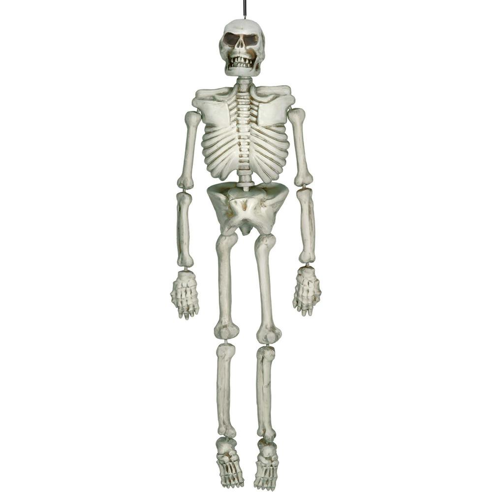 amscan 54 in. halloween life size skeleton-670306 - the home depot