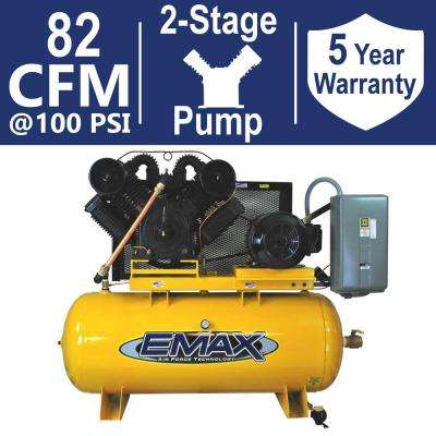Industrial PLUS Series 120 Gal. 25 HP 208-Volt 3-Phase 2-Stage Stationary Electric Air Compressor