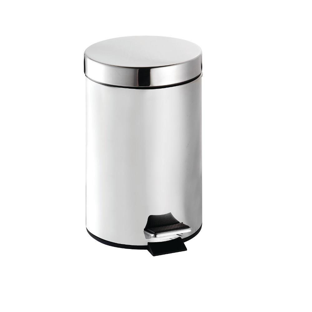 3 Litre Pedal Bin in Chrome