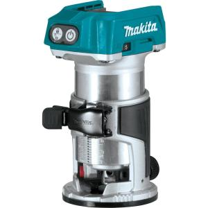 Makita 18-Volt LXT Lithium-Ion Brushless Cordless Variable Speed Compact Router with built-in LED light (Tool Only) by Makita