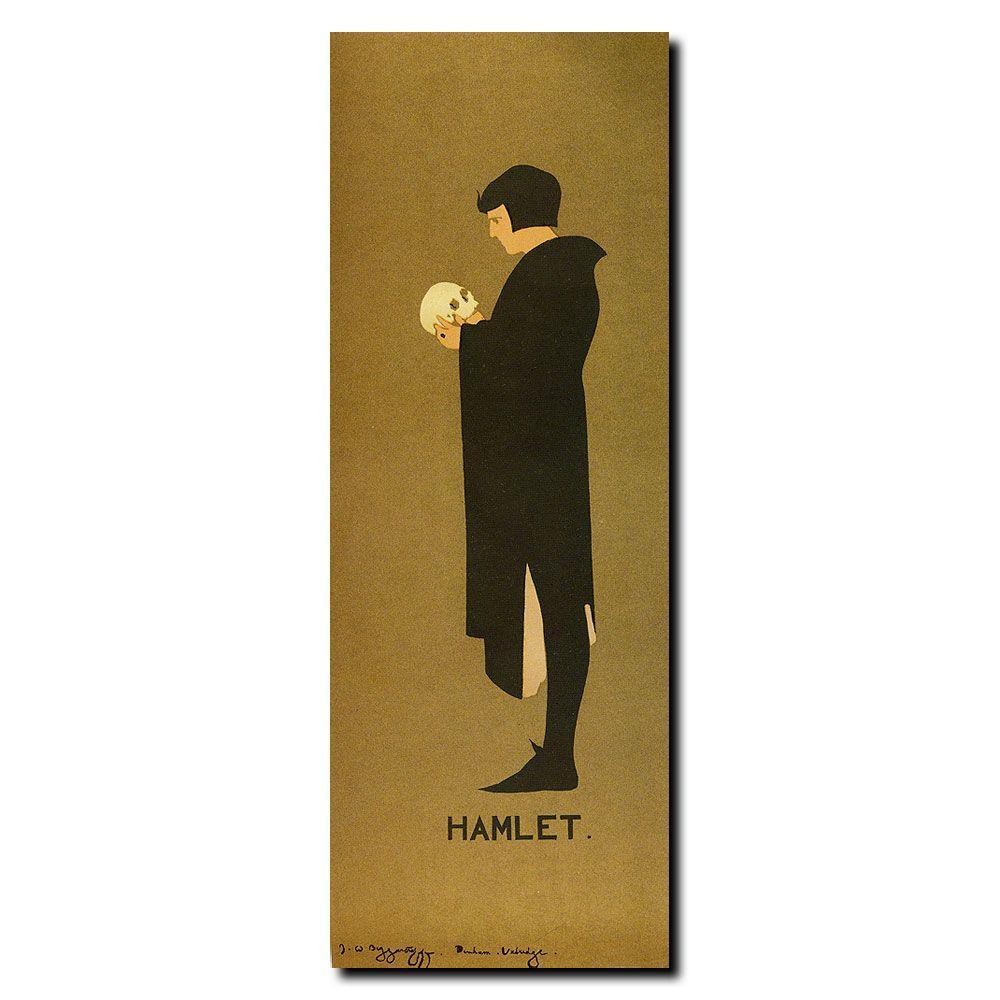 Trademark Fine Art 20 in. x 47 in. Hamlet Canvas Art