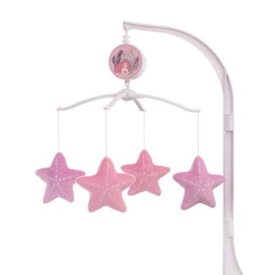 The Little Mermaid Pink, Aqua and Coral Ariel Cute by Nature Musical Mobile