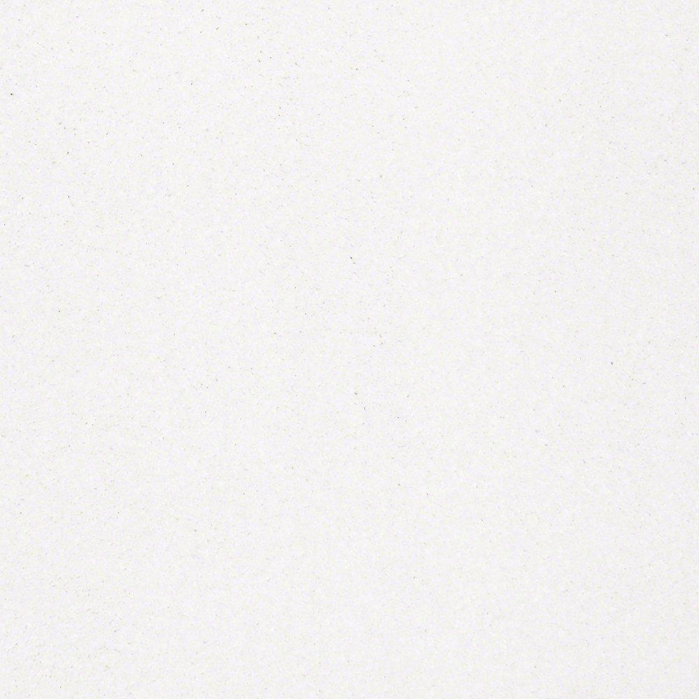 Carpet Sample - Joyful Whimsey - In Color White Cloud 8 in. x 8 in.