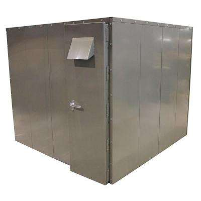 SafRoom 8 ft. x 8 ft. x 7 ft. Steel Tornado Shelter