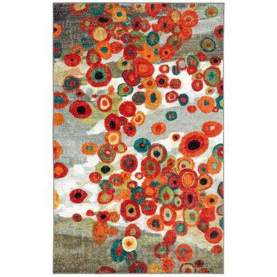 Tossed Floral Multi 7 ft.6 in. x 10 ft. Area Rug