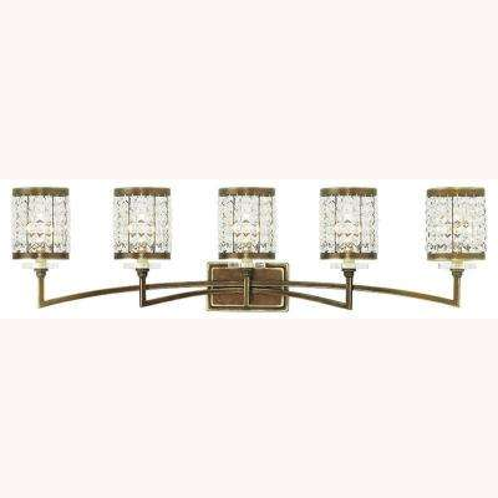 Grammercy 5-Light Palacial Bronze Bath Light