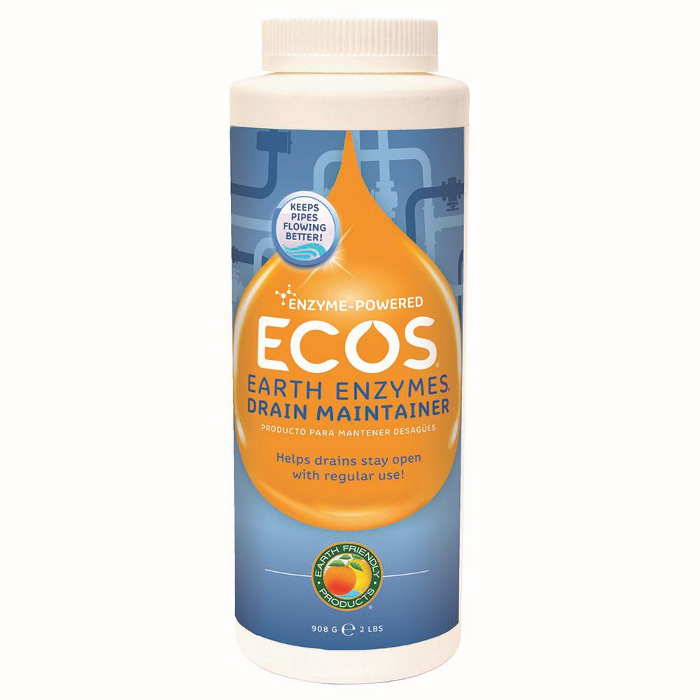 Ecos 2 Lb Earth Enzymes Drain Opener 970406 The Home Depot