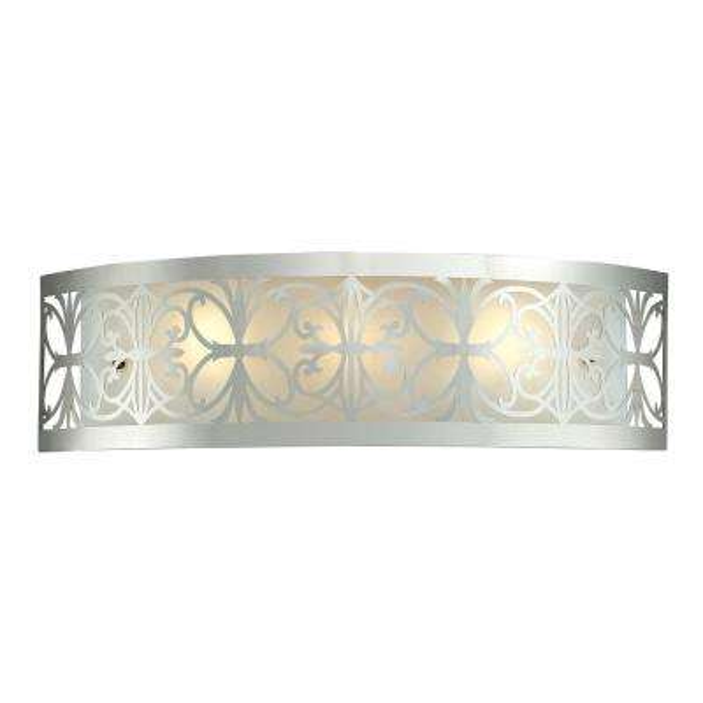 Willow Bend 3-Light Polished Chrome Wall Mount Bath Bar Light