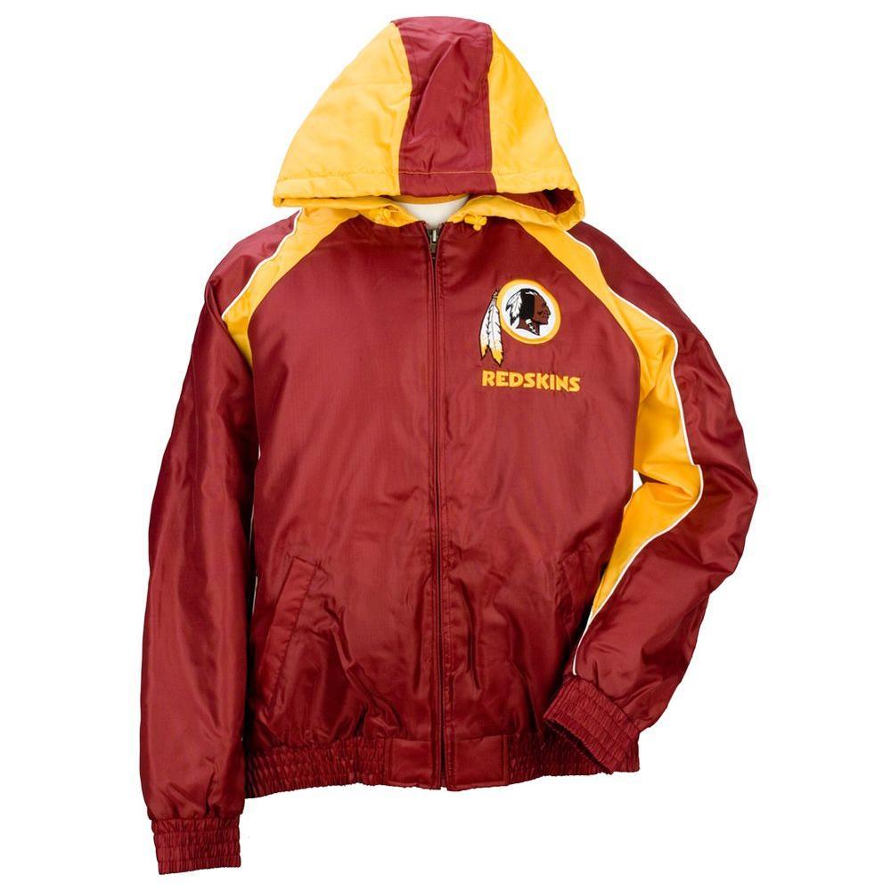 3G NFL Licensed Redskins Winter Coat Size XL-DISCONTINUED