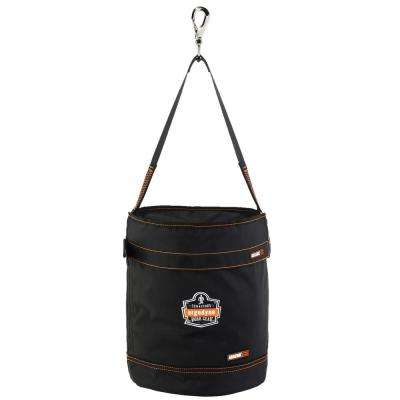 Arsenal 12.5 in. Tool Bucket with Top, Gray Polyester