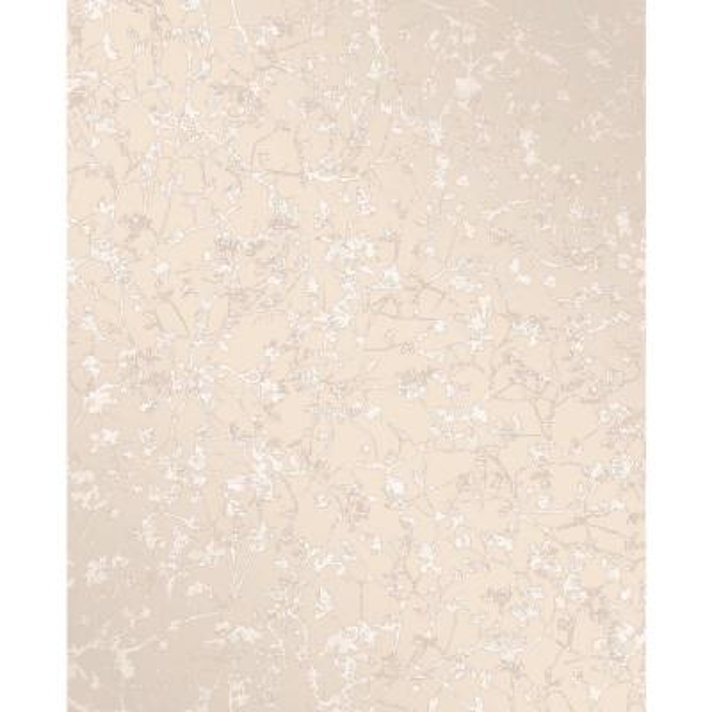 Palatine Champagne Leaves Wallpaper Sample