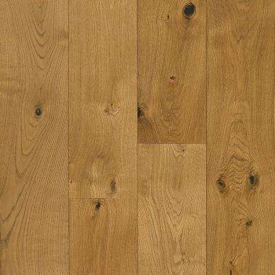 Take Home Sample - White Oak Natural Engineered Hardwood Flooring - 5 in. x 7 in.