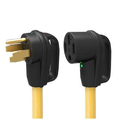 25 ft. Length 50 Amp 125/250-Volt Extension Power Cord with Handle