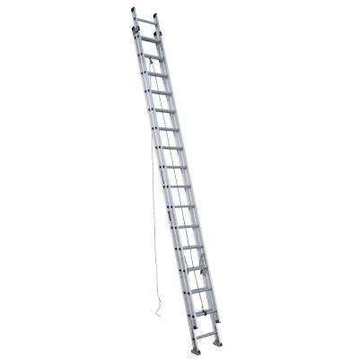 32 ft. Aluminum D-Rung Extension Ladder with 300 lb. Load Capacity Type IA Duty Rating