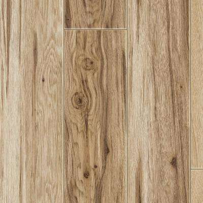 Signal Creek Watkins Hickory 12 mm Thick x 7.4 in. Wide x 50.59 in. Length Laminate Flooring (18.2 sq. ft. / case)
