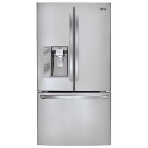 LG Electronics 28.8 cu. ft. French Door Refrigerator in Stainless Steel with Dual Ice Makers by LG Electronics