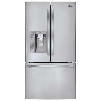 28.8 cu. ft. French Door Refrigerator in Stainless Steel with Dual Ice Makers