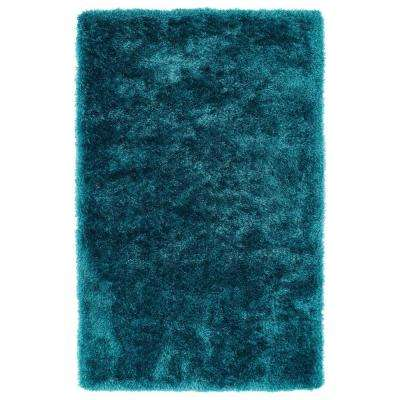Posh Teal 8 ft. x 10 ft. Area Rug