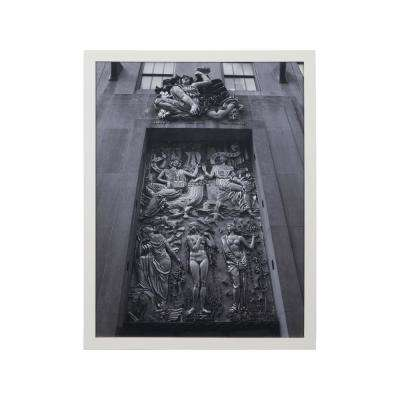 "26 in. x 30 in. ""Rock Center I"" Framed Wall Art"