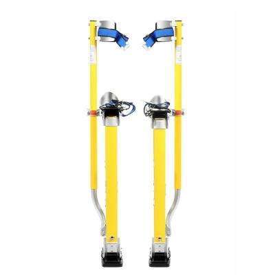 24 in. to 40 in. Yellow Mag Pros Magnesium Drywall Stilts