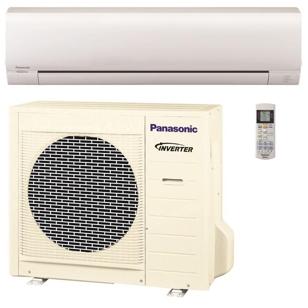 Panasonic 24 000 btu 2 ton pro series ductless mini split for Ductless ac