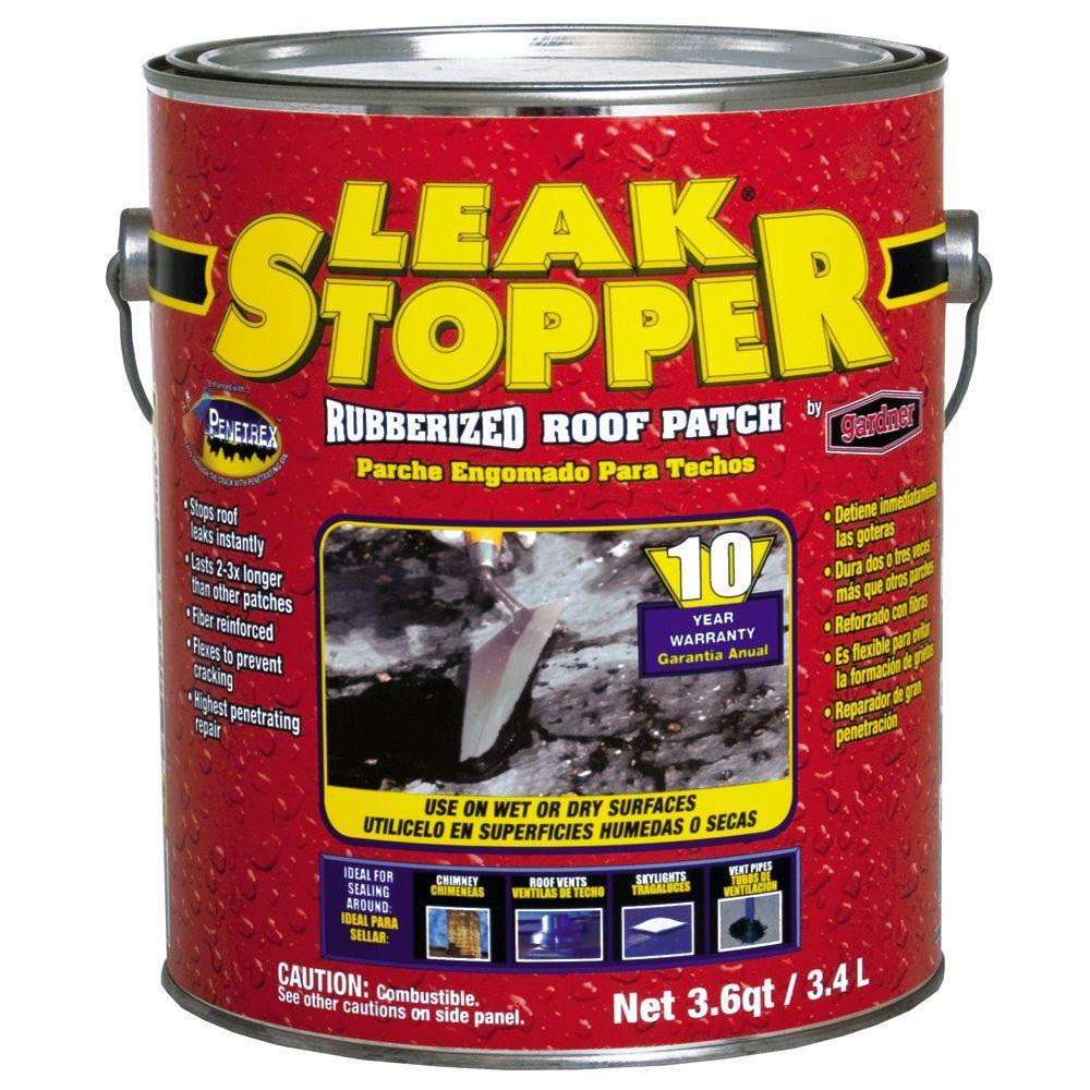 Leak Stopper 3 6 Qt Rubberized Roof Patch