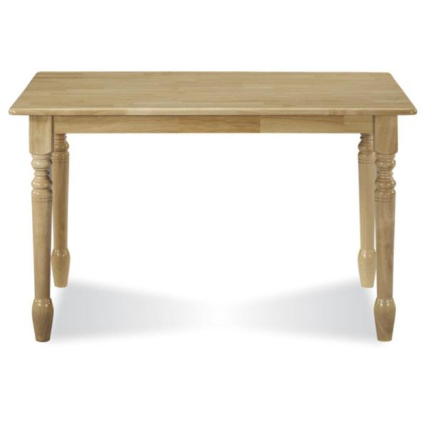 International Concepts Natural Dining Table T01-3048