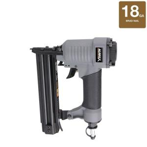NuMax Pneumatic 1-1/4 inch x 18-Gauge Strip Brad Nailer by NuMax