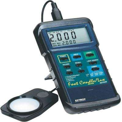 Heavy Duty Light Meter with PC Interface