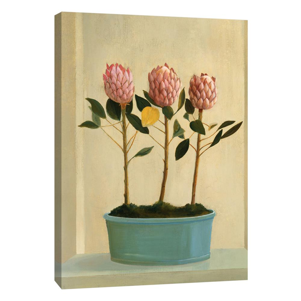 PTM Images 12.in x 10.in \'\'Protea Stand\'\' Printed Canvas Wall Art-9 ...