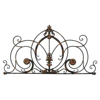 24.25 in. Metal Wall Decor