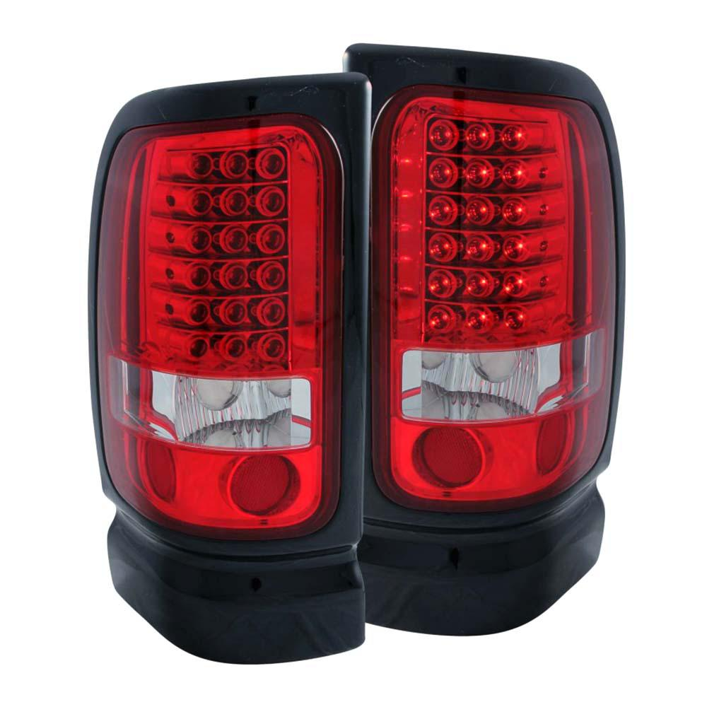 1994 2001 Dodge Ram Led Taillights Red Clear