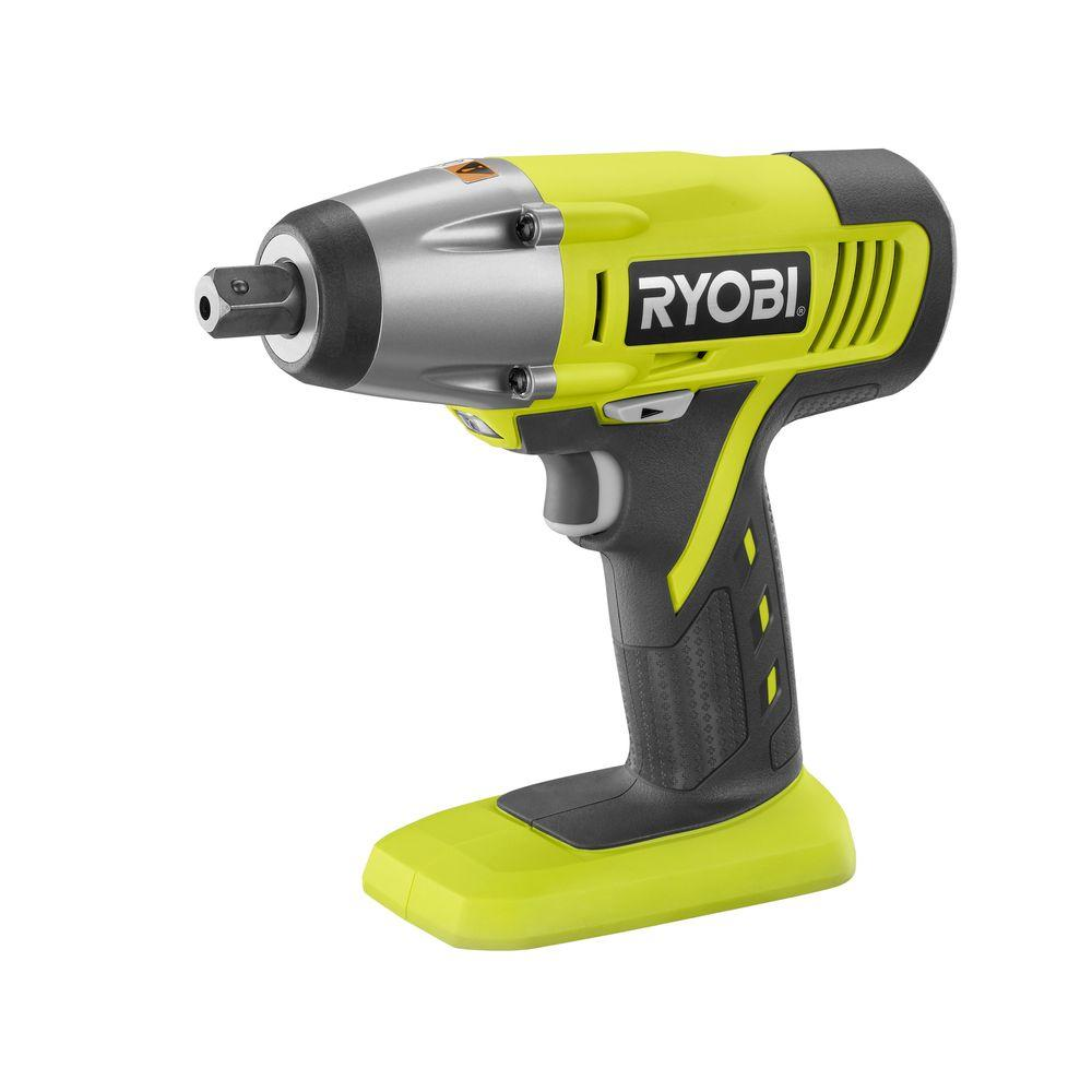 Ryobi 18-Volt ONE+ Impact Wrench (Tool-Only)