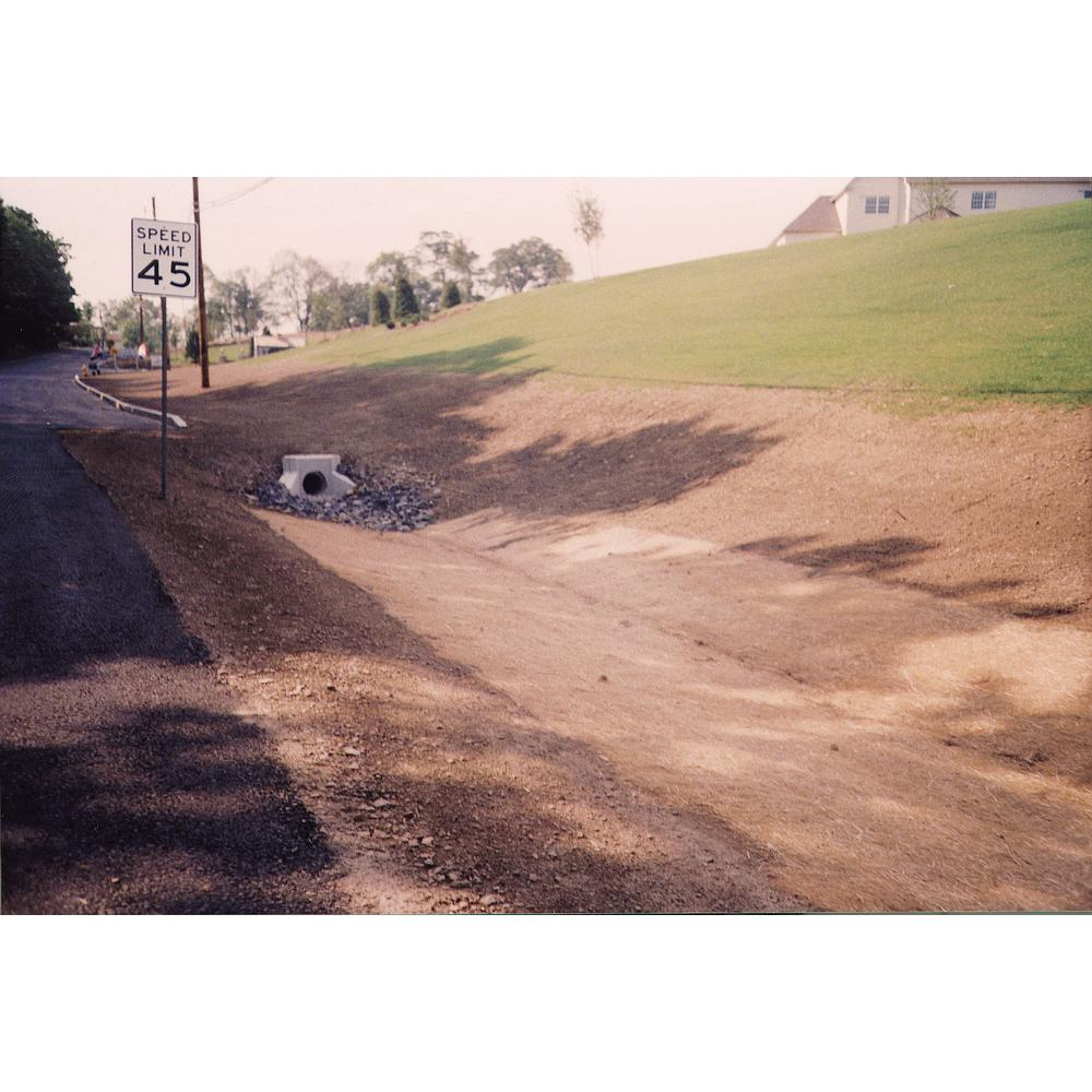 8 Ft X 112 5 Ft Polypropylene Single Net Straw Erosion Control Blanket 17681 1 1125 The Home Depot
