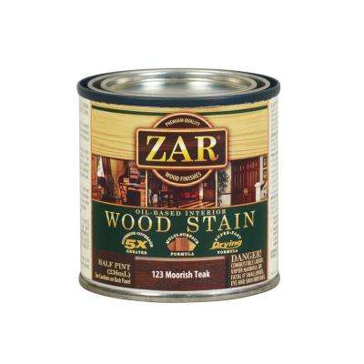 123 0.5 pt. Moorish Teak Wood Stain (2-Pack)