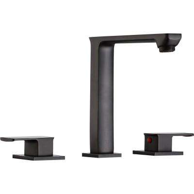 Alpine 8 in. Widespread 2-Handle Bathroom Faucet in Oil Rubbed Bronze