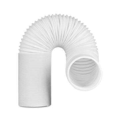 5 in. x 6.5 ft. Non-Insulated Flexible Exhaust Hose for Portable Air Conditioner, Clockwise