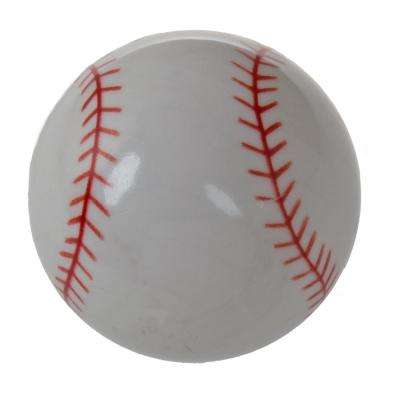 1-1/4 in. Dia Baseball Sports Cabinet Dresser Knob (10-Pack)