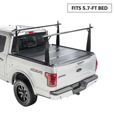 CS Tonneau Cover/Truck Bed Rack Kit for 04-14 F150 5 ft. 7 in. Bed without Cargo Management System