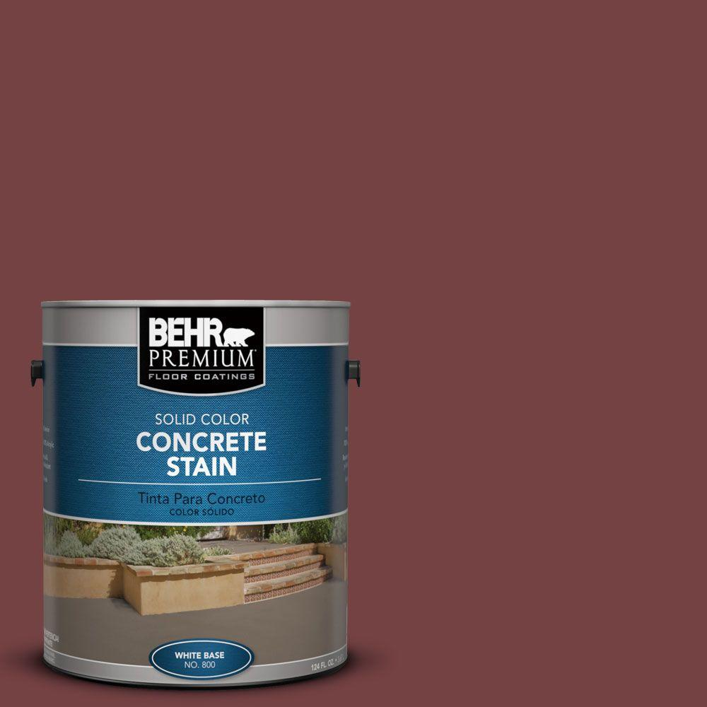 1 gal. #PFC-04 Tile Red Solid Color Interior/Exterior Concrete Stain