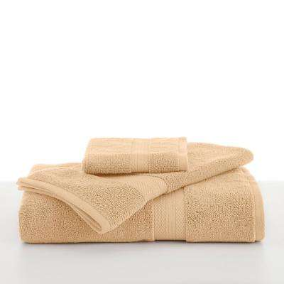 Abundance Cotton Blend  Bath Towel in Cornsilk
