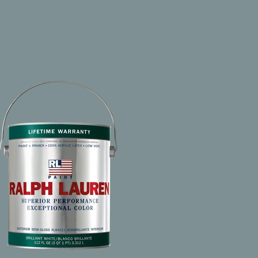 Ralph Lauren 1-gal. Grey Douglas Semi-Gloss Interior Paint