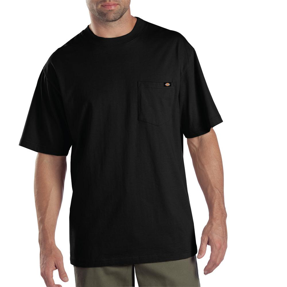 43acf9bd2f4de Dickies Men's Black 2-Pack T-Shirt-1144624BKXL - The Home Depot