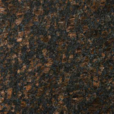 Granite Tan Brown Polished 12.01 in. x 12.01 in. Granite Floor and Wall Tile